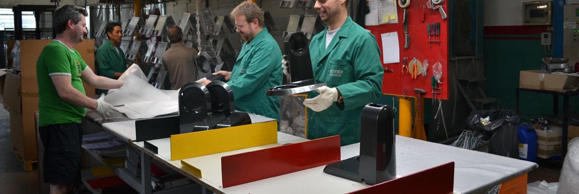 impianto a verniciature industriali
